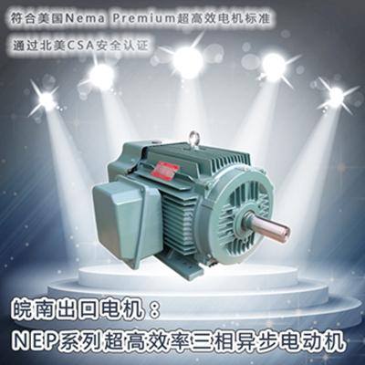 现金赌博导航-NEP系列超高效电机