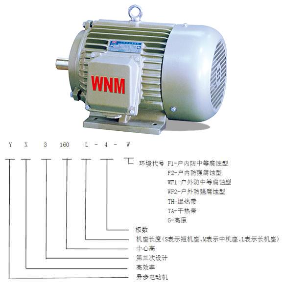 电机的型号及含义