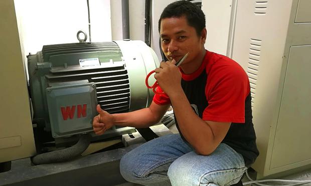 亚博印尼用户盛赞亚博电机